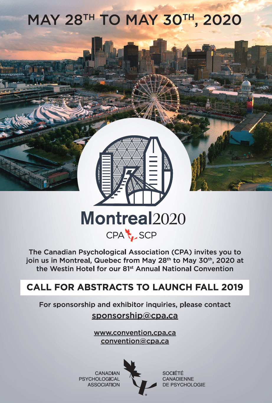 Montreal 2020 Poster